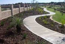 Pathways / We love pathways; leading somewhere or even no where in particular. Let us lead you along our garden paths ...
