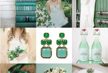 Weddings | Emerald Green 2013 / by Lavender Hill Weddings + Events