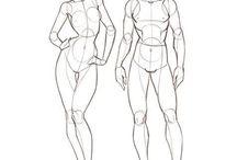 desenho de corpo