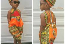 African Kid's Fashion / Kid's fashion in African prints and styles.