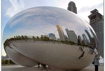 Cloud Gate by Anish Kappor / by Mary Peterson