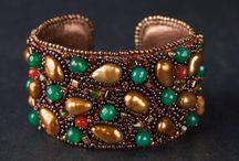 Elena Maha / Bracelets with stones, hand made. insta- Elena.maha