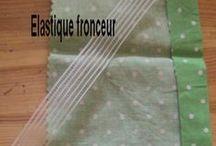 elastique fronceur pour smocks
