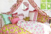for girly bedrooms / by Tara Smith