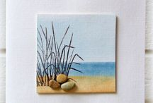 Mixed Media - Mini Canvas Art