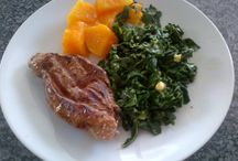 Banting / Low card and high protein 7 days meal plan