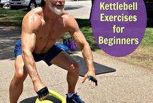 Kettle belt exercises