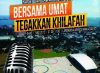 """Rapat Dan Pawai Akbat 1436H / RAPAT DAN PAWAI AKBAR (RPA) 1436 H  adalah acara akbar yang kembali akan digelar oleh Hizbut Tahrir Indonesia diberbagai daerah di seluruh Indonesia pada tahun ini. Acara ini mengusung tema sentral """"BERSAMA UMAT TEGAKKAN KHILAFAH"""".    Info Lebih Lanjut : http://hizbut-tahrir.or.id/rpa1436/  Jadilah bagian dari saksi sejarah perjuangan penegakan Syariah dan Khilafah di Negeri ini."""