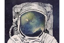 SPACE Printspiration / New selection of vintage and contemporary space prints to rocket your home into the final frontier.