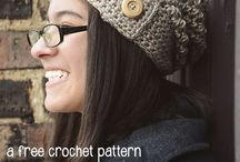 Crochet hats, crowns, ear warmers, cowls / by Ariel Rebeles