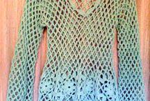 crochet remera