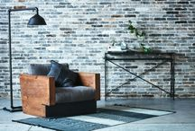 Foundry: Industrial edge / Antiqued wood, cold rolled steel, I-beams, and rebar legs... This collection exudes modern minimalist design with a twist of industrialized passion, see it all here! sixpenny.com