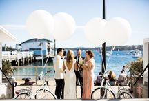 Sydney Weddings / Watsons Bay Boutique Hotel is the perfect destination for a water front wedding ceremony, reception or engagement party, playing host to intimate weddings for 50 people or lavish affairs for  250 guests.