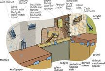 How-To / DIY fans here is a board of How-To to help with tile installation, grout application, and much more / by Daltile