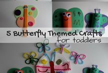 Crafts for Toddlers / Crafts for Toddlers - easy and simple craft ideas perfect for both toddlers and preschoolers. Crafts for all year round, including, summer, autumn / fall, winter and spring.  Ideas including Valentine's Day, Easter, Christmas, Father's Day, Mother's Day and Halloween