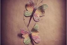 μορφη / πηλινη πεταλουδα