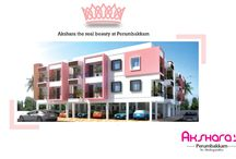Project Akshara's / We always care to provide homes of comfort to utilize the special amenities for modern lifestyle, daily needs which are conveniently provided with a blend of luxury and space for relaxation and sharing of precious moments. Akshara is Cool, Comfy and well-equipped apartment for you and your Children's future  http://stepsstone.net/mahathes/overview.php