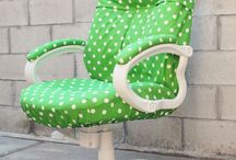 Upholster a chair etc