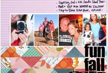 Productivity: My Own Scrapbook Layouts / by Katie Scott