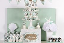 Bridal shower/bachelorette  / Ideas for bridal showers and bachelorette parties! The work of the MOH  / by Kristin Thompson