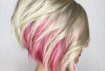 pelo / siempre es un buen síntoma cambiar tu color y tu corte