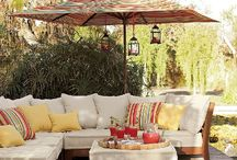 Patio / Sweet Summer nights!~ Oh How I love my Patio / by Patricia Hurst