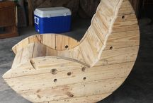 rocking chair en pallettes