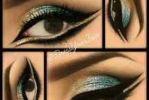 egyptische/arabische make-up