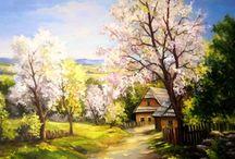 пейзаж живопись