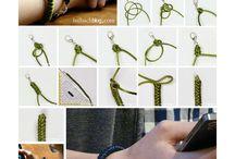 Knüpfen, Knoten und Flechten