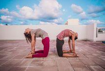 Glow Hot Yoga event & Overseas water