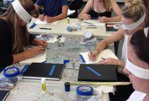 Three dimensional art lessons