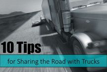 Sharing the Road with Trucks / Safety tips for sharing the road with trucks