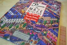 Pierre The Maze Detective Awesome Hidden-Object Puzzle Book!