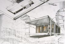 draw / free hand architectural sketches and cad details