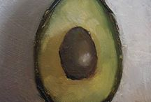 Avocado Paintings
