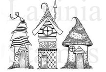 Whimsy houses