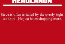 fandom - Marvel & DC - Bland Marvel Headcanon