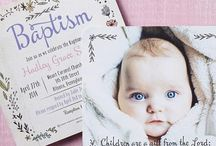 Julias christening ideas!!