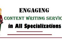 Engaging Content Writing Services in All Specializations