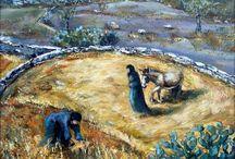 Αικατερίνη / H Kατερίνα Δαμιανάκου γεννήθηκε και μεγάλωσε στη Μάνη στoυς πρόποδες του Ταϋγέτου στο χωριό Σιδηρόκαστρο και στο Κρυονέρι Οιτύλου ,χωριό καταγωγής της μητέρας της, σε αγροτική οικογένεια. Από παιδί είχε έντονη κλίση στις καλλιτεχνικές δραστηριότητες. Διαβάστε περισσότερα: https://www.koronamou.gr/painters