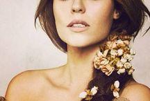 penteados florais