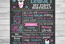 Winter Penguin Birthday - Winter Onederland