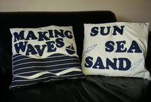 My Handmade cushions / My handmade cushions - designed by me