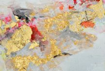Home Decor; Painting; Gold Leaf Art