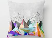 Pillows / With these throwpillows you can create a nice feeling in your home.