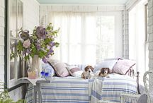 Sleeping Porch Ideas / by Angela @ Cottage Magpie