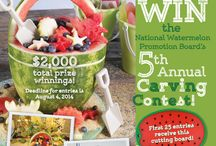 2014 #WatermelonCarving Contest / Send us your best #WatermelonCarving and you could win $500!