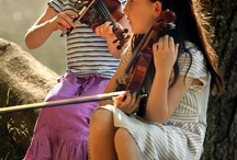 Cute Kids Playing Stringed Instruments / by Fein Violins