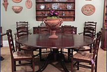 Kitchen & Dining Tables / Dining tables are one of Englishman's specialties! We have tables for country kitchens to studio apartments to formal dining rooms. We can also custom build your table for you.